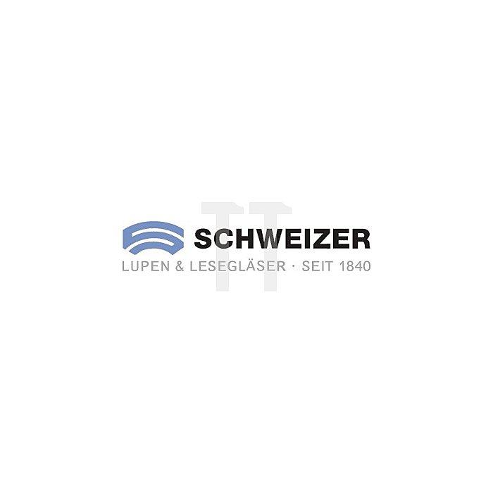 Uhrmacherlupen-Set Profi-Set Tech-Line 6x, 8x, 10x, 15x in Alu-Box 4tlg.
