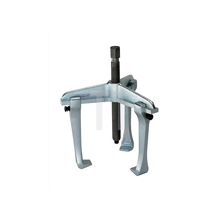 Universal-Abzieher Spann-T.100mm Spann-W.90mm 3armig m.Hakenbremse