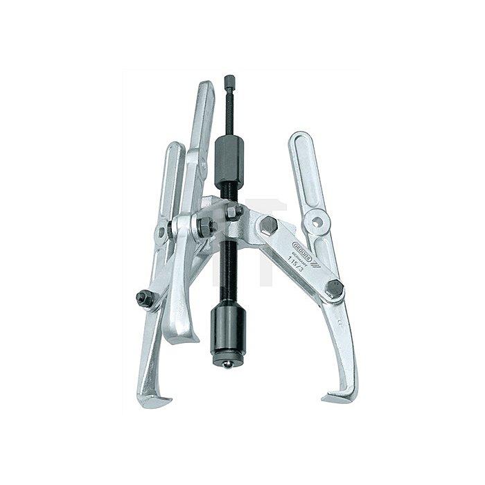 Universal-Abzieher Spann-T.310mm Spann-W.280mm 3tlg. hydraulisch
