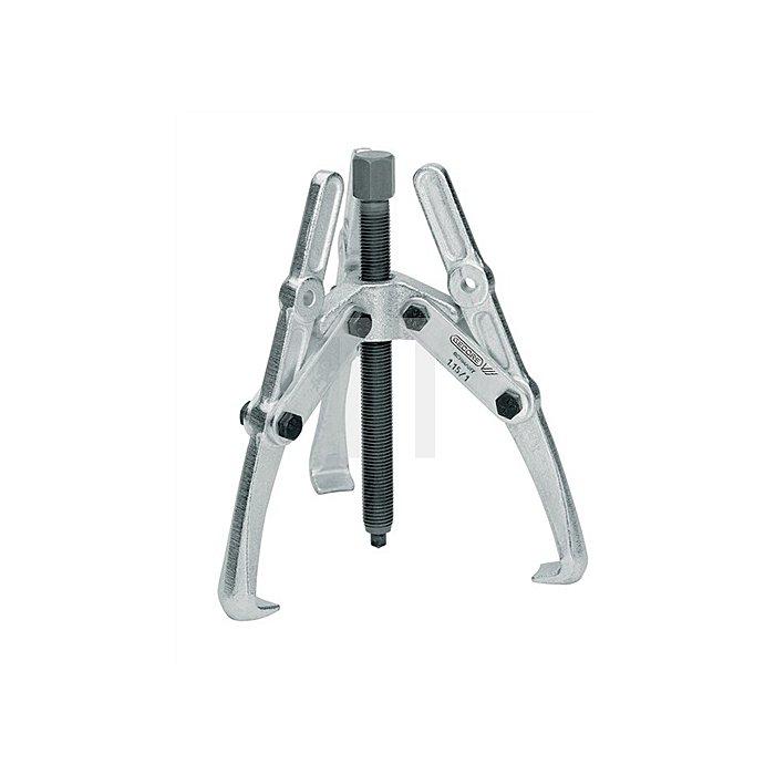Universal-Abzieher Spann-T.390mm Spann-W.280mm 3armig
