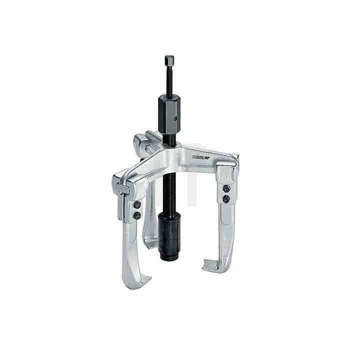 Universal-Abzieher Spann-T.75mm Spann-W.200mm 3armig hydraulisch