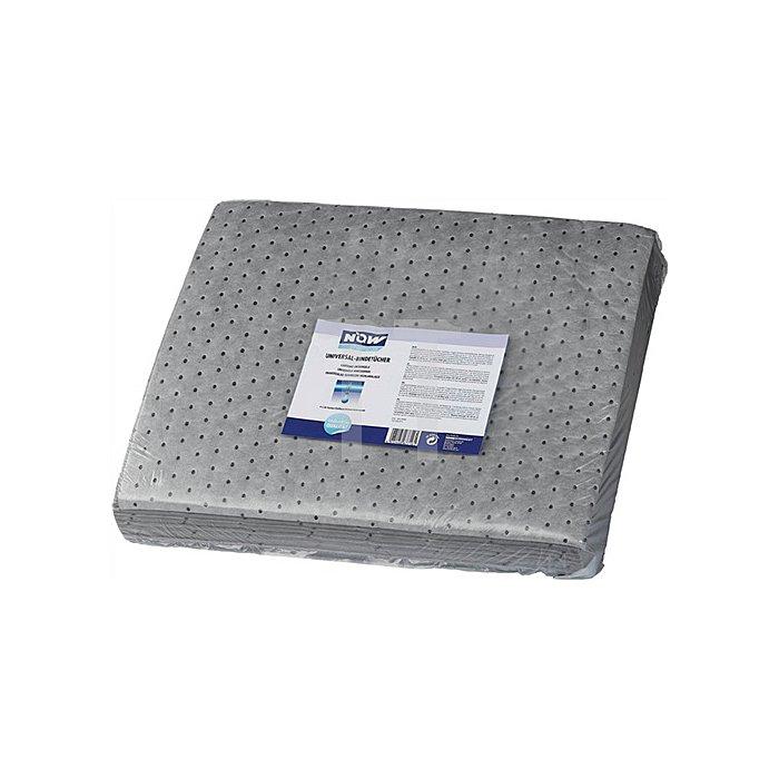 Universal Bindetücher 40x50cm grau NOW chemicals Karton (4x25 Tücher)