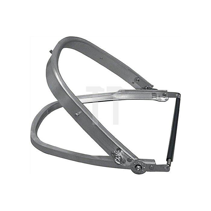 Universal-Helmhalterung aus robusten Aluminiumprofilen