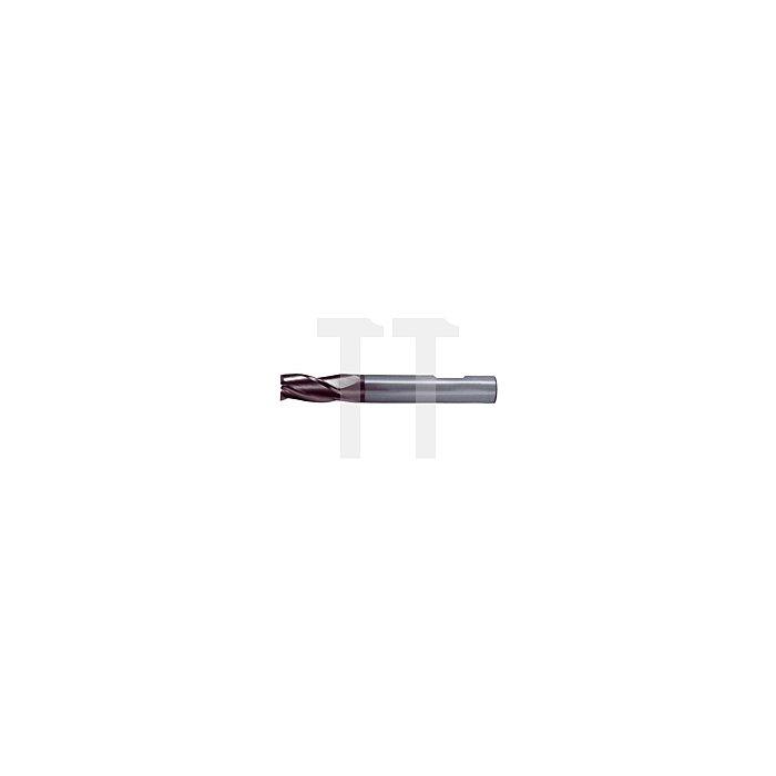 Universal Vollhartmetall-Schaftfräser Typ N TiAlN beschichtet
