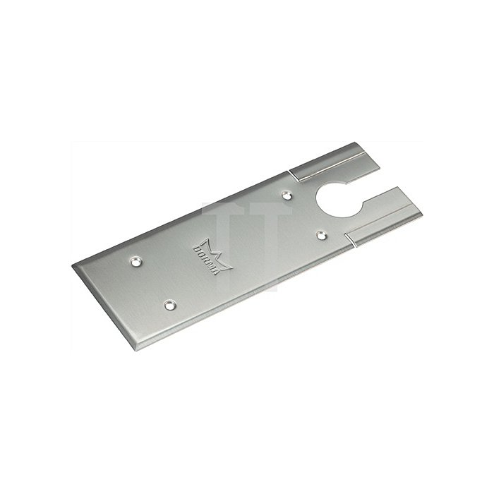 Universalabdeckplatte zu BTS 75 V Edelstahl