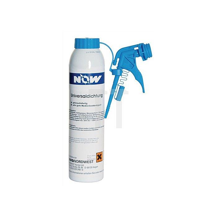 Universaldichtungsmittel 200ml Kartusche blau/pastös NOW -50/+250Grad C