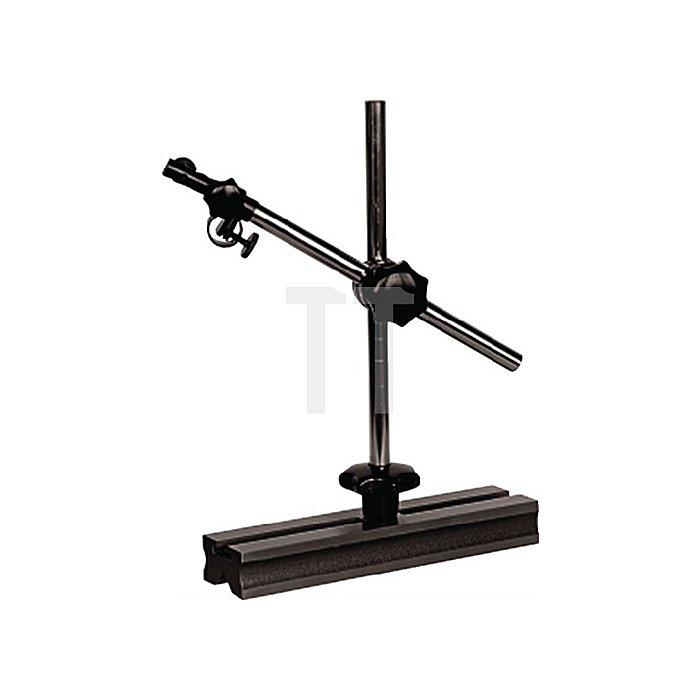 Universalmessstativ Gesamt-H.300mm Zentralklemmung Aktionsradius 180mm