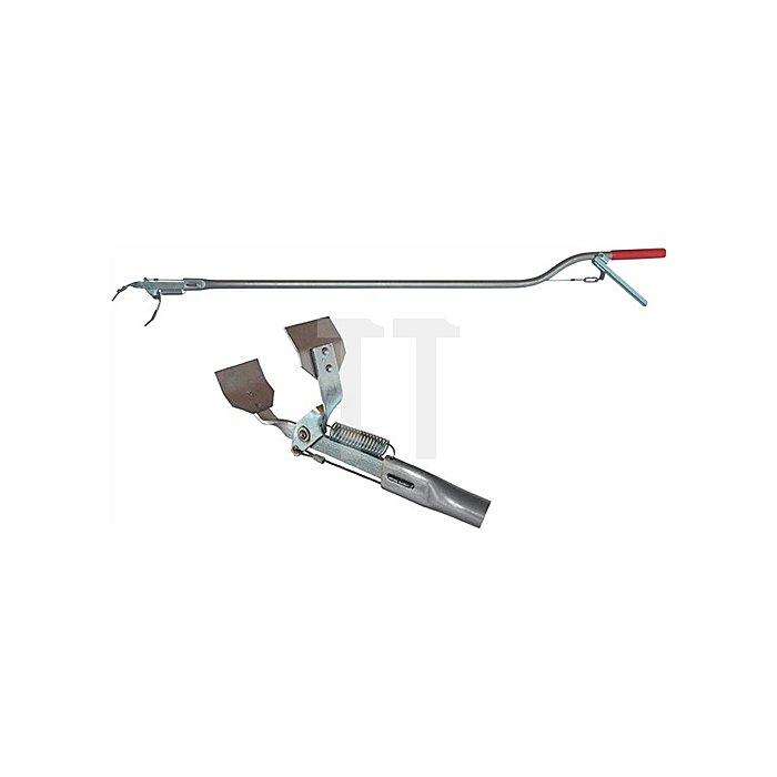 Unkrautzange L. 980 mm Aluminium Greiferöffnung 65 mm
