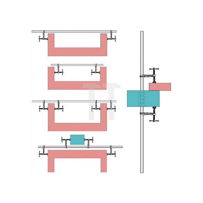 Variables Hochleistungszwingen Set komplett Bessey SLV150M