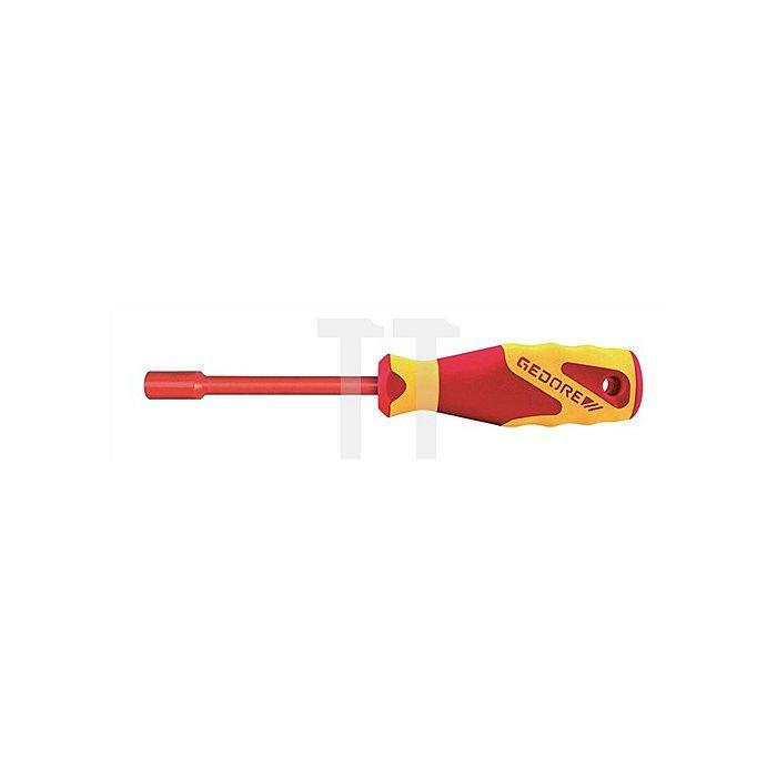 VDE-Steckschlüssel mit Griff 6-kant 10mm