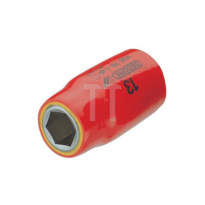 VDE-Steckschlüsseleinsatz 1/2Zoll 6-kant 13mm