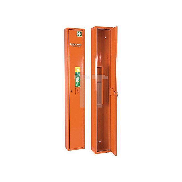 Verbandschrank orange SÖHNGEN 300x2000x200mm Feinlblech 1türig