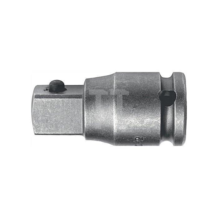 Vergrößerung 1/2Zoll 4KT Ges.-L.48mm ASW 3/4Zoll Abtrieb