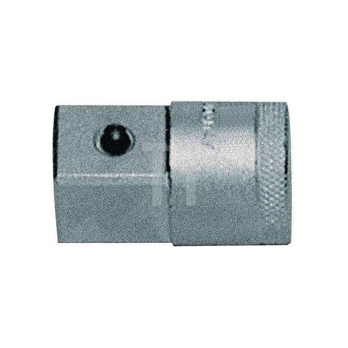 Vergrößerungsstück 44mm 1/2 auf 3/4Zoll GEDORE