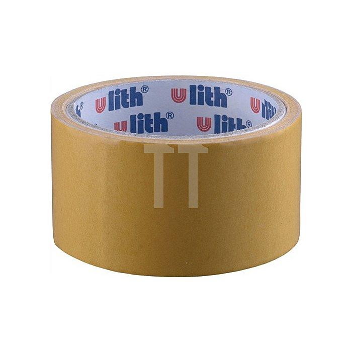 Verlegeband Länge 5m Breite 50mm beidseitig klebend beige