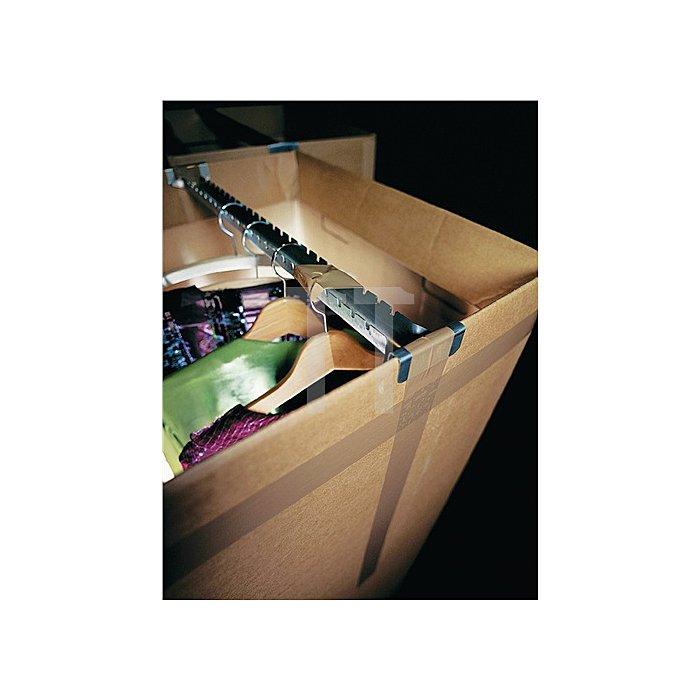 Verpackungsklebeband 4120 Länge 66m Breite 50mm braun PVC-Folie tesa