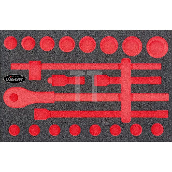 Vigor 2K-Weichschaum-Einlage für V2364 (3/3), leer