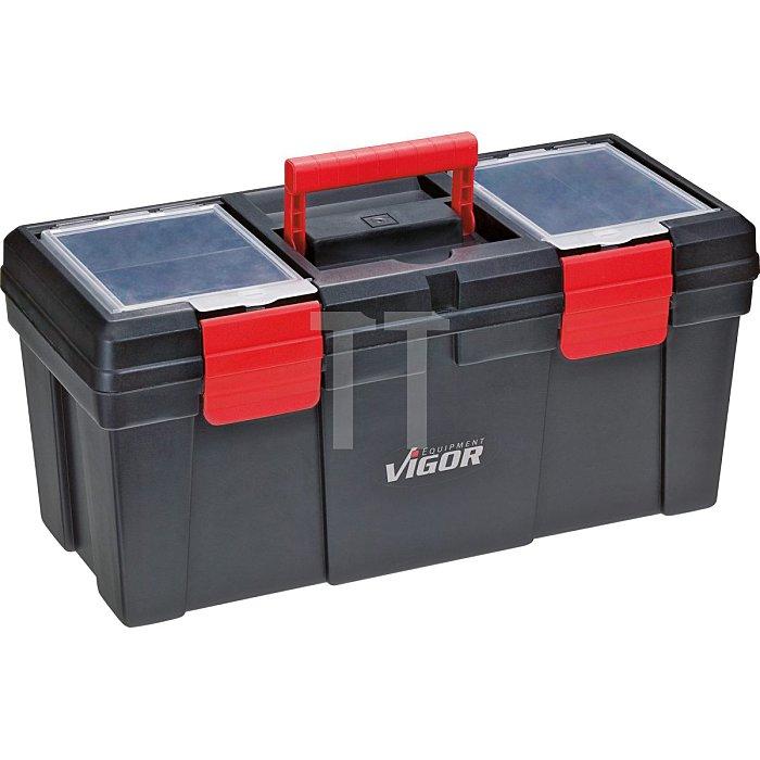 VIGOR Werkzeugkoffer, leer V1425