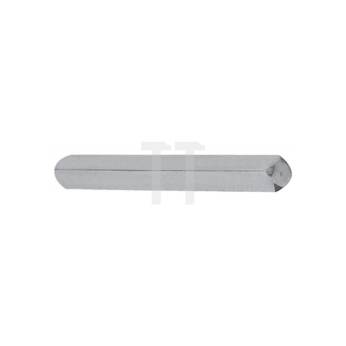 Vollvierkantstift Typ M VK 7mm L. 60mm Stahl verz. f. Profiltürlochteile