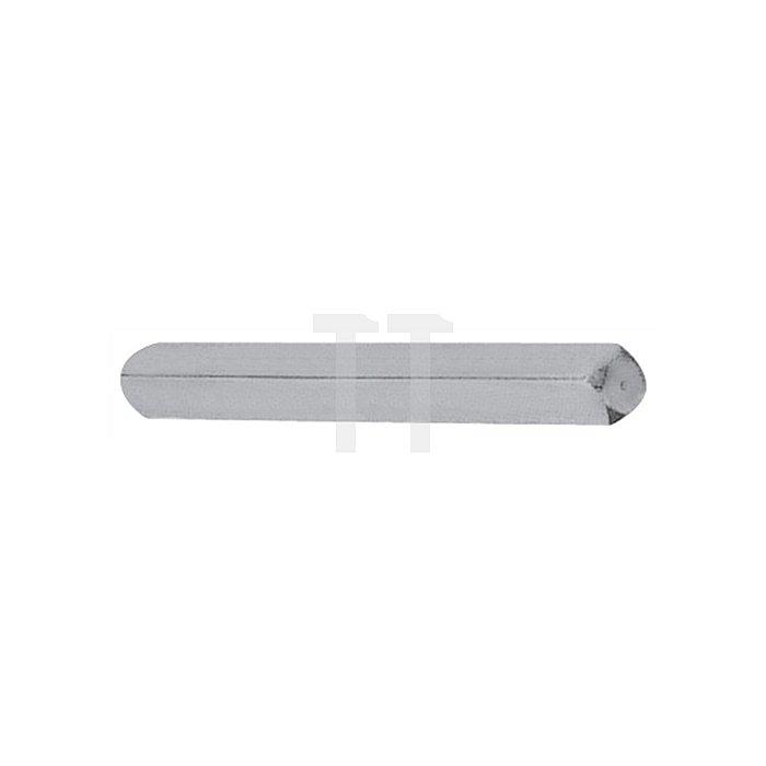 Vollvierkantstift Typ M VK 7mm L. 77mm Stahl verz. f. Profiltürlochteile