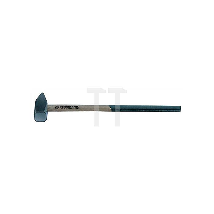 Vorschlaghammer 3000g Stiel-L.600mm Hickorystiel PEDDINGHAUS DIN1042
