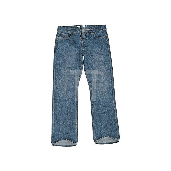 Walker- Jeans Brad Gr.33/34 blue stone 100% Baumwolle
