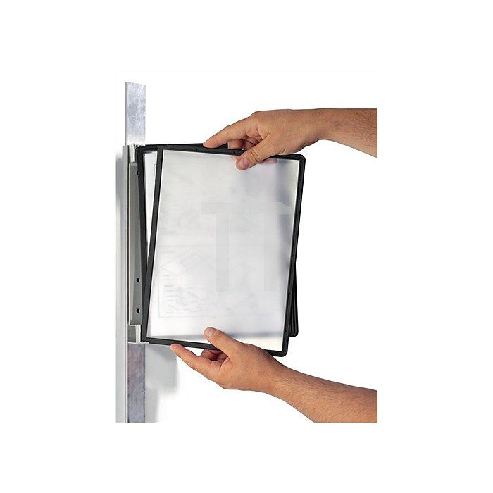 Wandhalter Komplett-Set magnetisch m.5 Sichttafeln