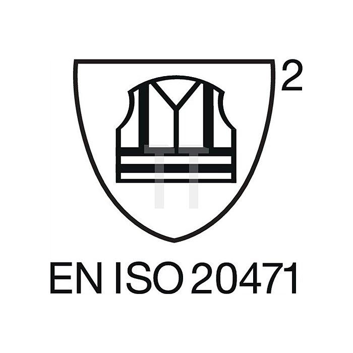 Warnschutz Bundhose Gr.48, EN20471 Kl.II orange/schwarz