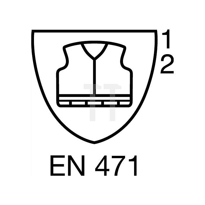 Warnschutz-Comfortjacke Gr.M gelb/marine EN471/343