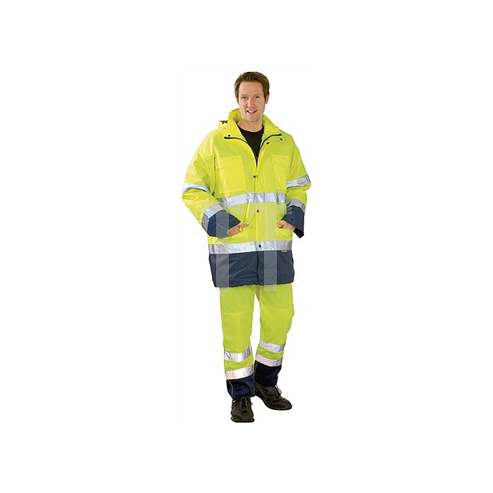 Warnschutz-Comfortjacke Gr.XL gelb/marine EN471/343