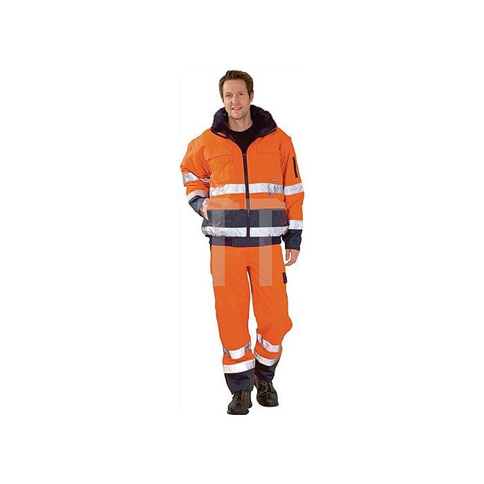 Warnschutz-Comfortjacke Gr.XL orange/marine EN471/343