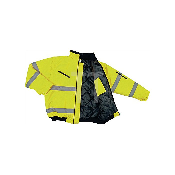 Warnschutz-Pilotenjacke Gr.L gelb EN20471 Kl.2