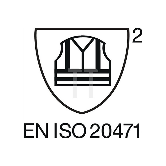 Warnschutz-Pilotenjacke Gr.XXL gelb EN20471 Kl.2