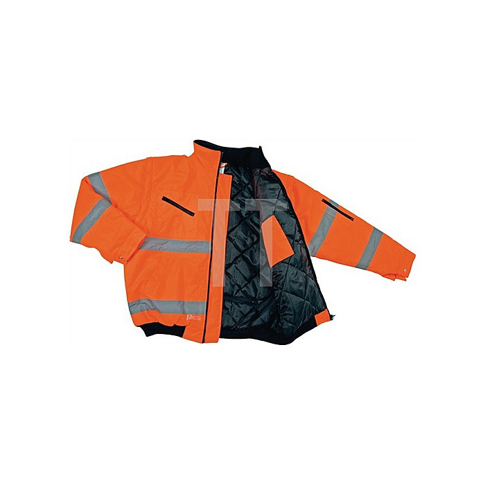 Warnschutz-Pilotenjacke Gr.XXXL orange EN20471 Kl.2