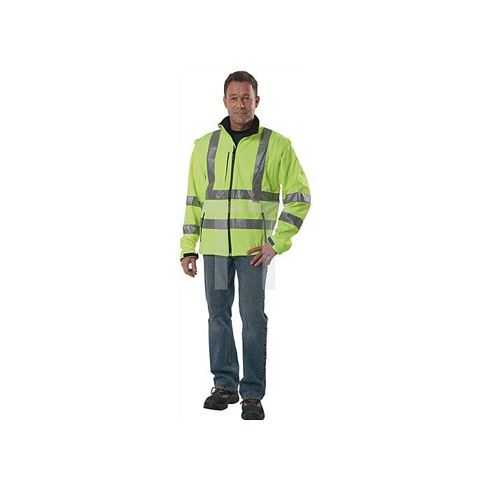 Warnschutz-Softshelljacke gelb EN20471 Gr.XXL