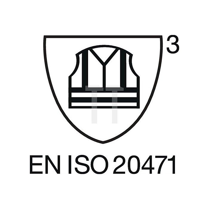 Warnschutz Softshelljacke Gr.S, EN20471 Kl.III, gelb/schwarz