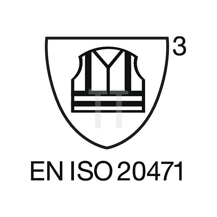 Warnschutz Softshelljacke Gr.XXXL, EN20471 Kl.III, gelb/schwarz