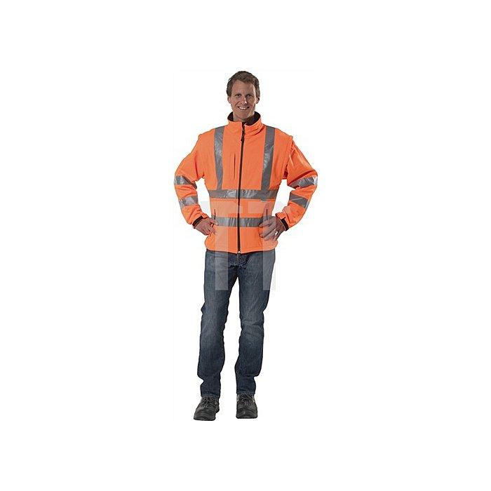 Warnschutz-Softshelljacke orange EN20471 Gr.XXL