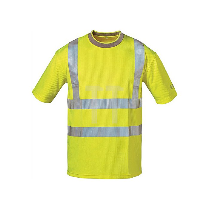 Warnschutz T-Shirt Pablo Gr.L gelb 80% PES/20% BW