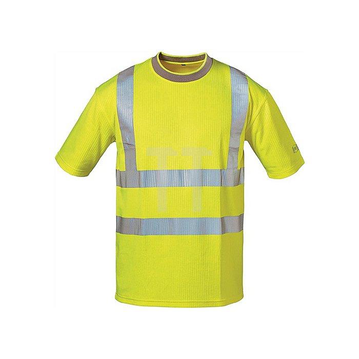 Warnschutz T-Shirt Pablo Gr.XXL gelb 80% PES/20% BW