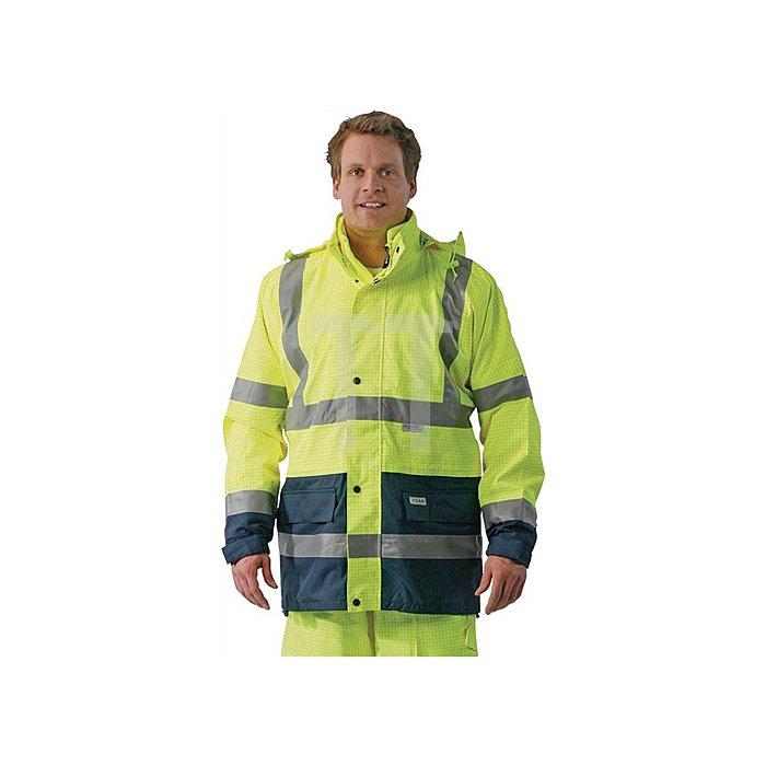 Warnschutzjacke 5 in 1 gelb/marine Gr.M Poratex Premium Membram