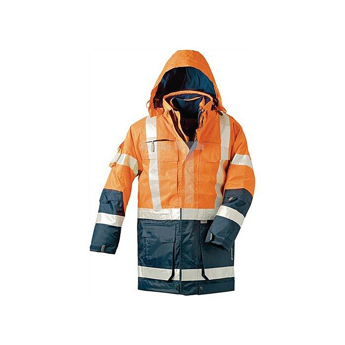 Warnschutzparka 4in1 orange/marine Gr.M EN471