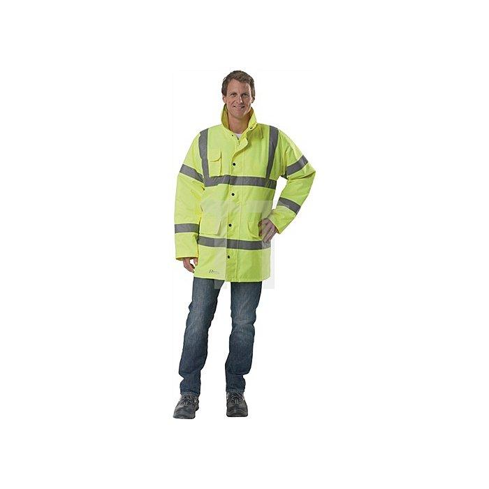 Warnschutzparka gelb EN471 KL.2 EN343 Gr.L
