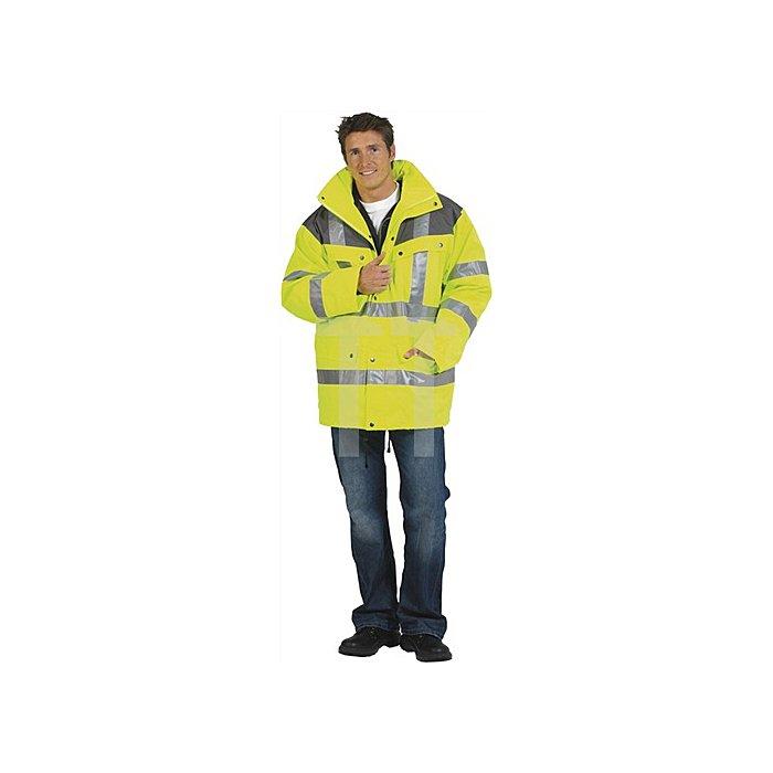Warnschutzparka Gr.M gelb/grau EN20471/343 Kl.2