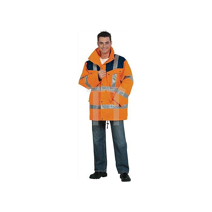 Warnschutzparka Gr.XL orange/marine EN20471/343 Kl.2