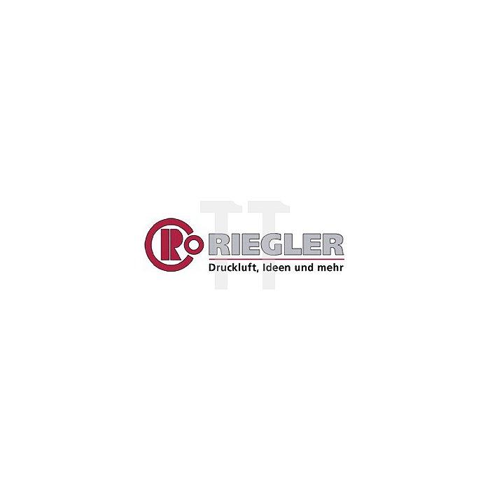 Wartungseinheit zweiteilig mit Polycarbonatbehälter Gewinde G 1/2