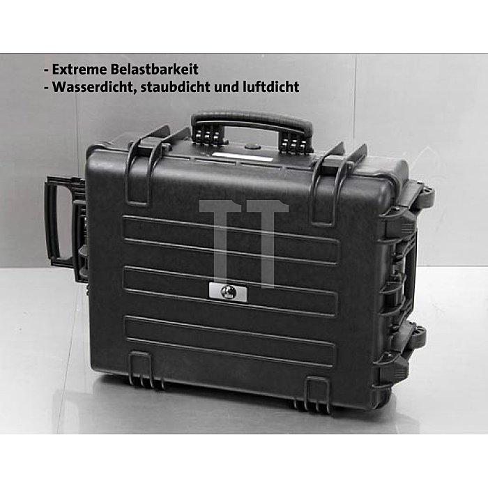 Wasserdichter Industrie- Werkzeugkoffer Solid extrem belastbar PP 480x370x205mm