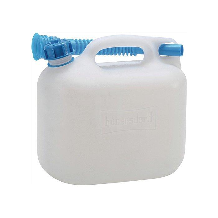 Wasserkanister 6l PE natur H255xB258xT127mm Öffnung 29mm