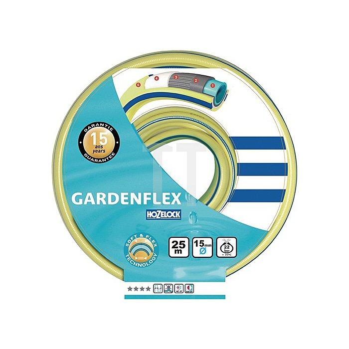 Wasserschlauch Gardenflex 1/2 Zoll PVC 10barBetriebsdruck Berstdruck 25 Bar 50m