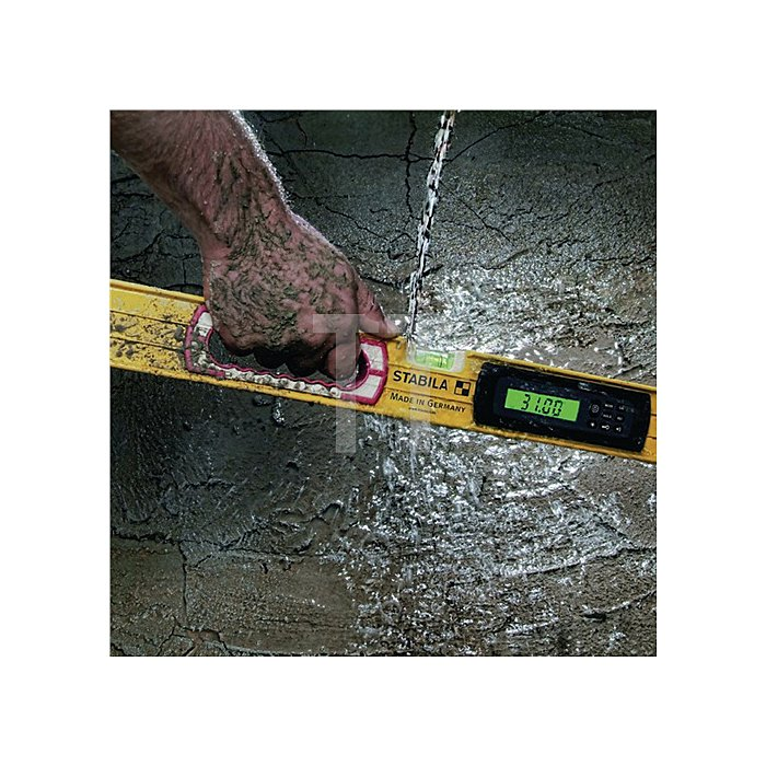 Wasserwaage a. Aluminium elektronisch 61cm 2 Elektronik-Displays IP65